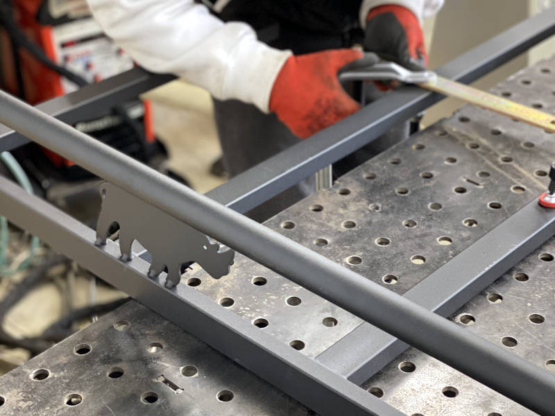 Domestic and Commercial Structural Steel Work